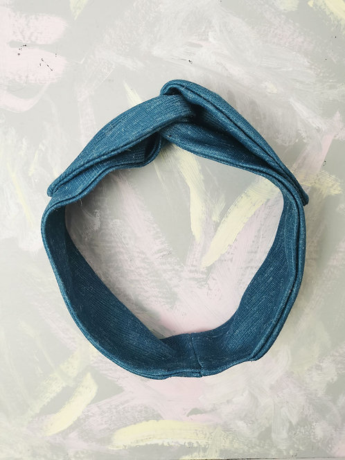 Cosy Knotted Headband - Teal