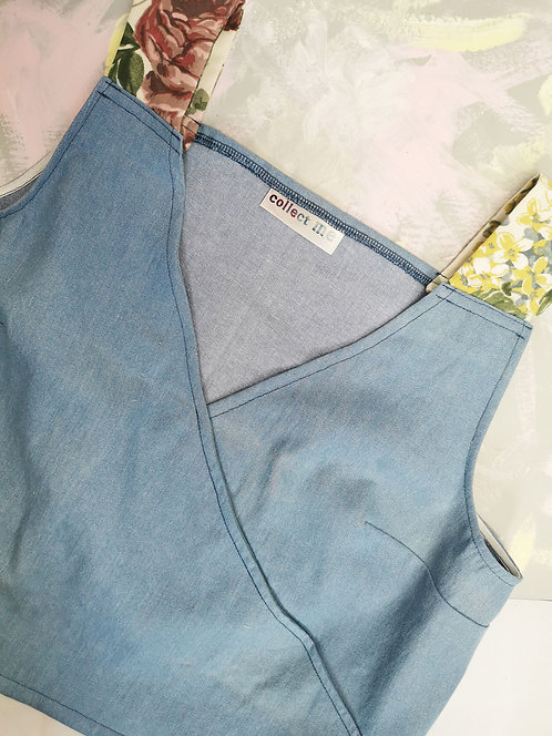 Chambray Daydreamer Top - Size L