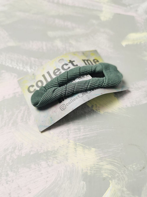 Hair Clip - Mint Green