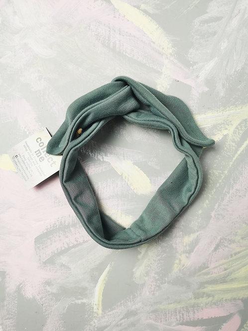 Knotted Headband - Mint Green