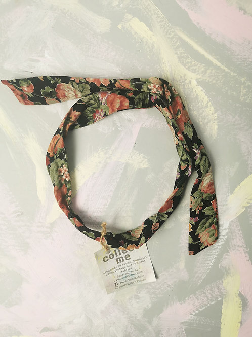 Twisty Wire Headband - Vintage Floral