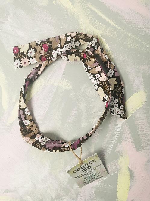 Twisty Wire Headband - Flower Power