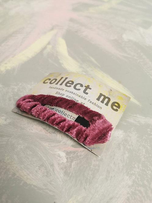 Hair Clip - Pink Velvet