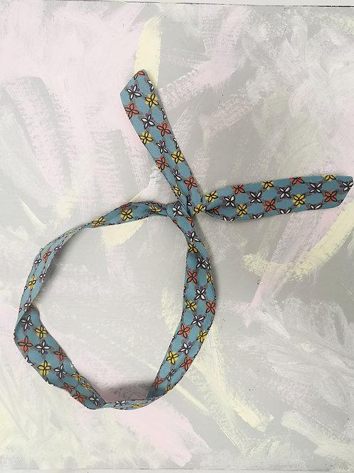 Twisty Wire Headband - Vintage Blue