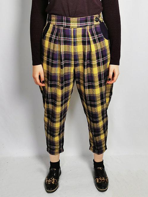 Rhubarb and Custard Peg Leg Trousers - Size 14