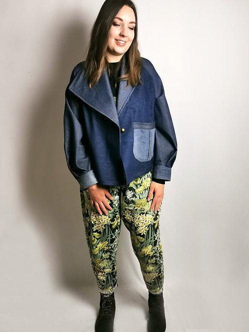 Denim Oversize Jacket - Size M/L