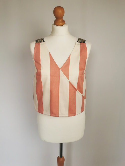 Candy Stripe Daydreamer Top - Size S