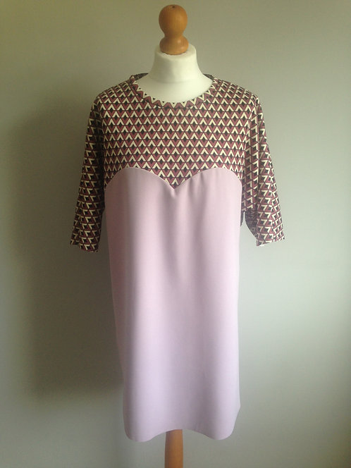 Geometric Pinks Heart Panel Tunic