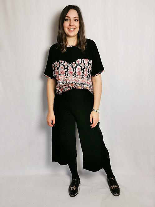Black Heart T-Shirt - Size L