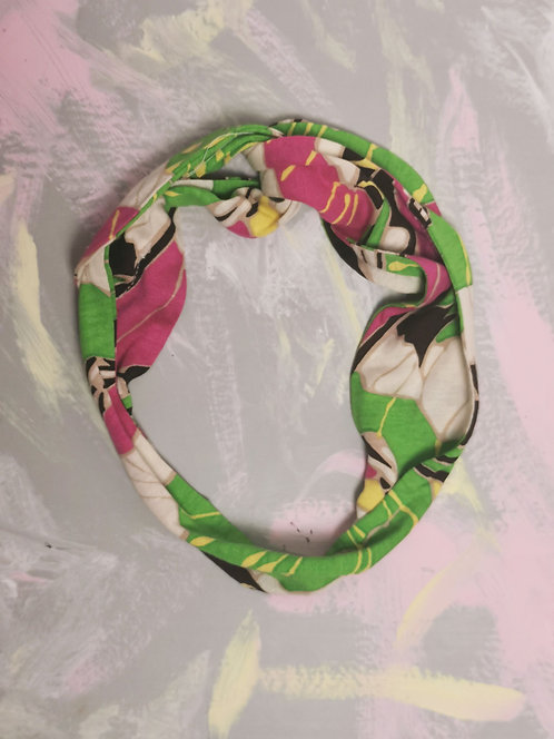 Knotted Headband - Tropical