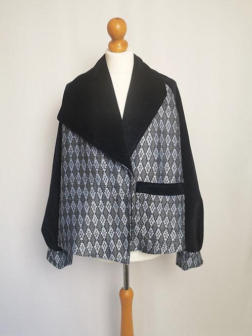 Diamonds Oversize Jacket - Size S/M