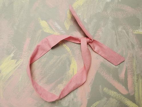 Twisty Wire Headband - Baby Pink
