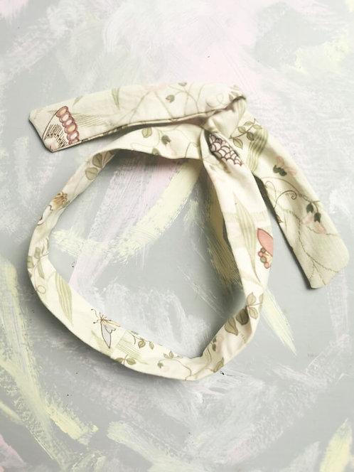 Twisty Wire Headband - Butterfly Print