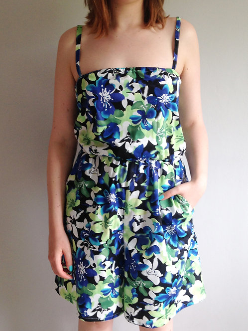 Tropical Flowers Summer Playsuit