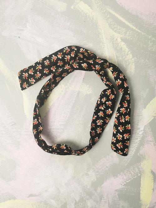 Twisty Wire Headband - Ditsy Flowers