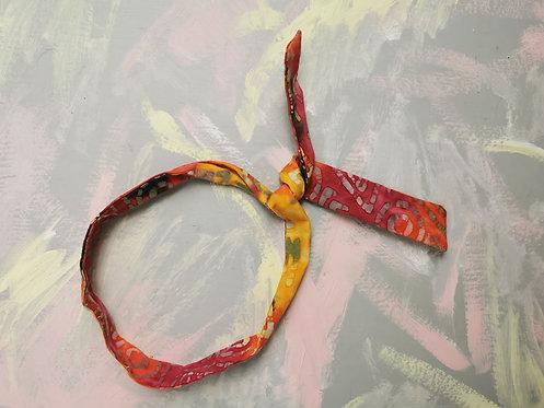 Twisty Wire Headband - Tie Dye