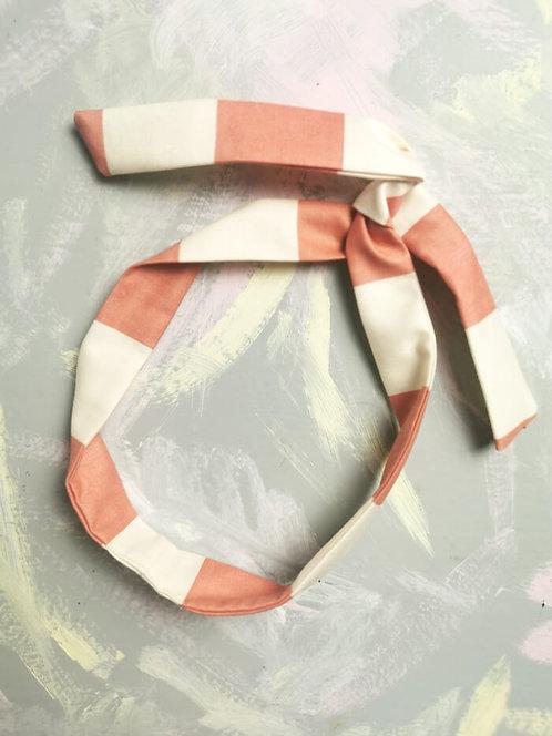 Twisty Wire Headband - Candy Stripes