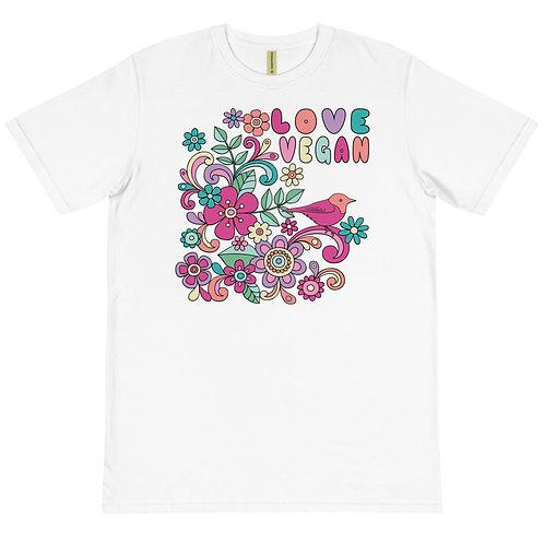 Love Vegan - Organic T-Shirt