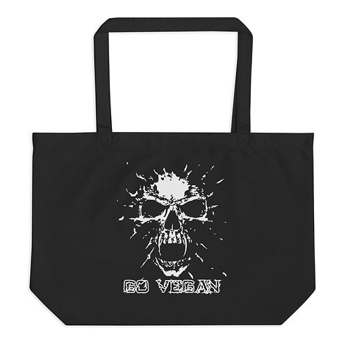 Go Vegan - Large Organic Tote Bag