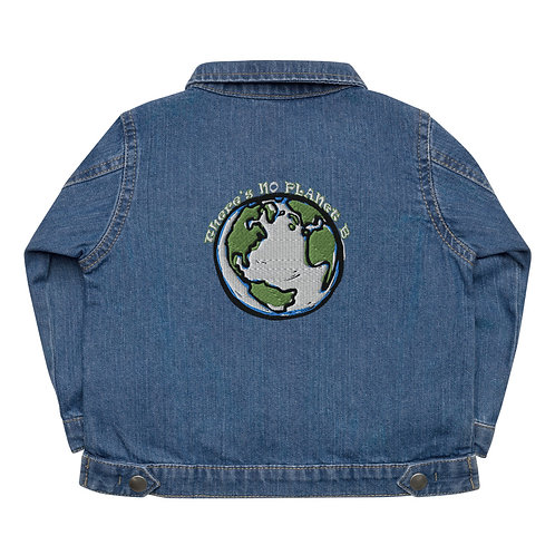 There's No Planet B - Baby Organic Jacket