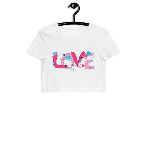 Love - Organic Crop Top