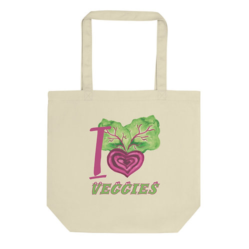 I Love Veggies - Eco Tote Bag
