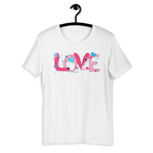 Love - Short Sleeved Unisex T-Shirt