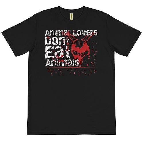 Animal Lovers Dont Eat Animals - Organic