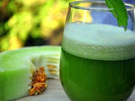The Honeydew Cucumber Juice