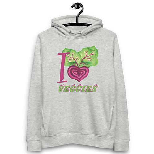 I Love Veggies - Unisex Pullover Hoodie