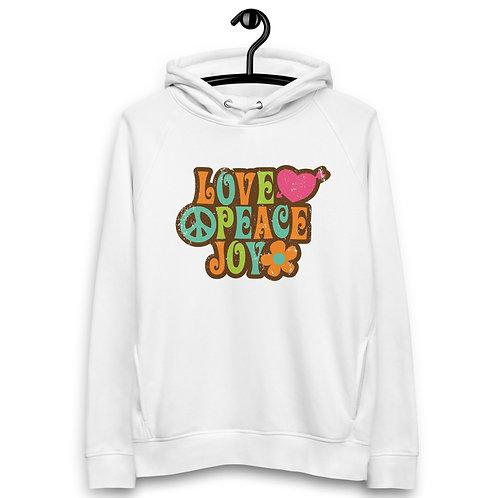 Love Peace Joy - Unisex Pullover Hoodie