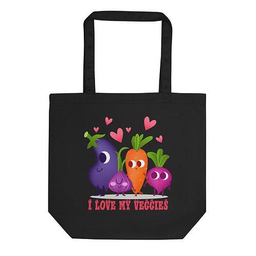 I Love my Veggies - Eco Tote Bag