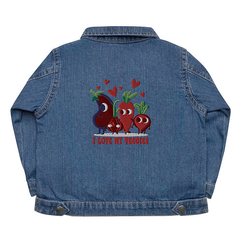 I Love My Veggies - Baby Organic Jacket