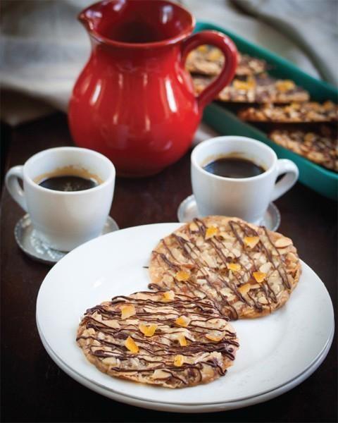 Vegan Florentines Cookies