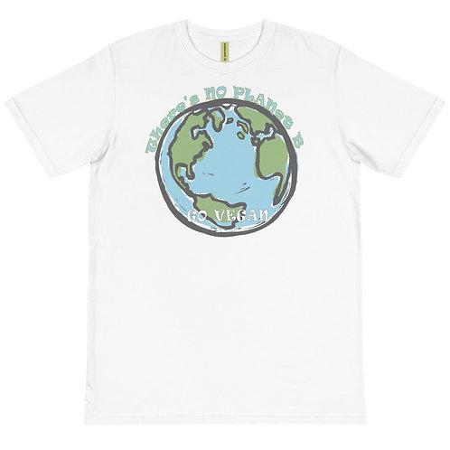 Theres No Planet B, Go Vegan - Organic T-Shirt