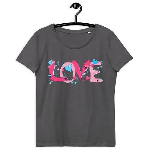 Love - Women's Fitted Eco Tee