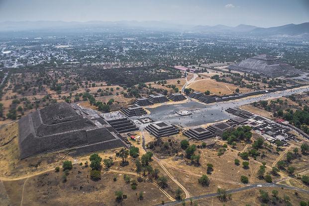 tour en helicoptero teotihuacan