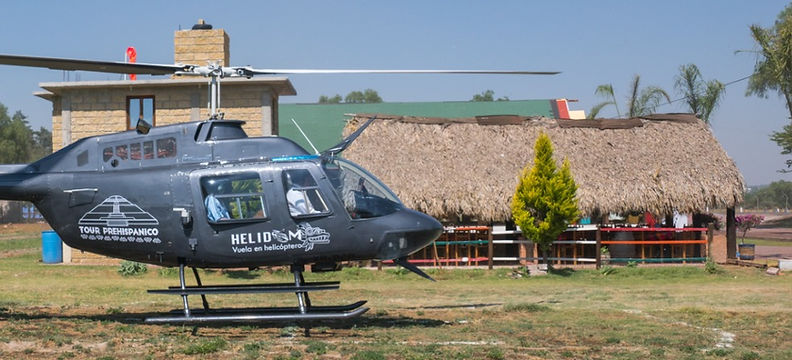 tour en helicoptero teotihuacan