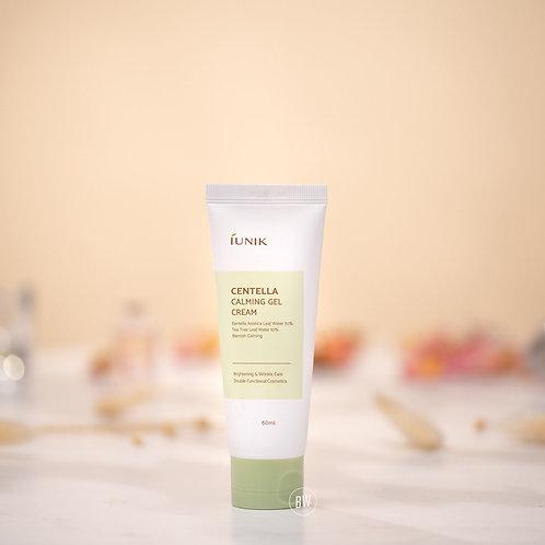 韓國抗衰老、面部保濕霜 iUNIK - Centella Calming Gel Cream 60ml