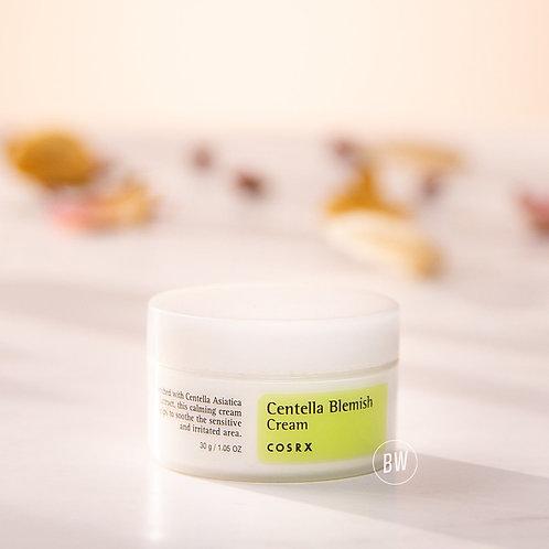 COSRX 淡斑霜 - 預防痤瘡痕跡,色素沉積,舒緩發紅和皮膚過敏 Centella Blemish Cream, 1.05 fl.oz / 30g