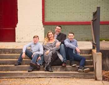 Eli, Amanda, John & Ari Brogdon