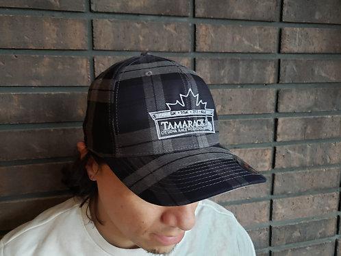 Ottawa Marathon - Ball Cap (Black Plaid)