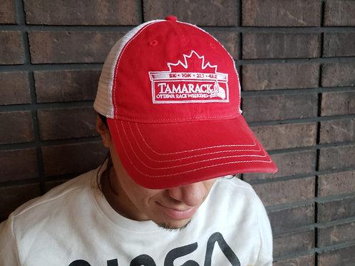 Ottawa Marathon - Mesh Back Cap (Red)