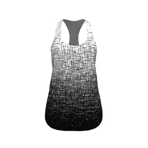 Lightweight Flowy Tank (Black+White) - Women's