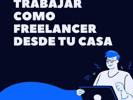 Trabajar como freelancer desde casa