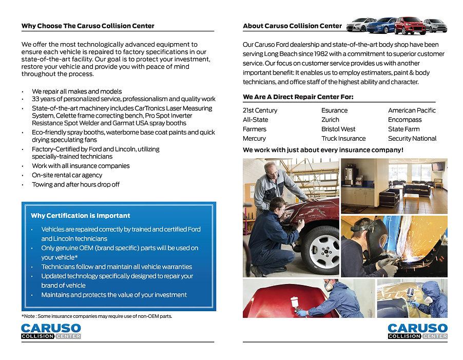 ford service brochure copywriting