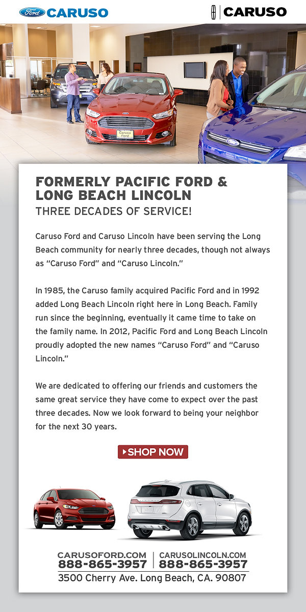 email public relations eblast ford copywriting