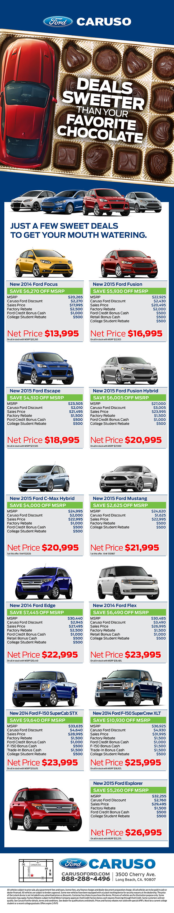 email sales blast ford copywriting