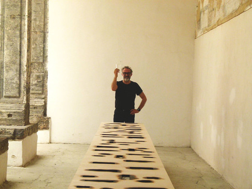 Massimo Bottura a Made in Cloister