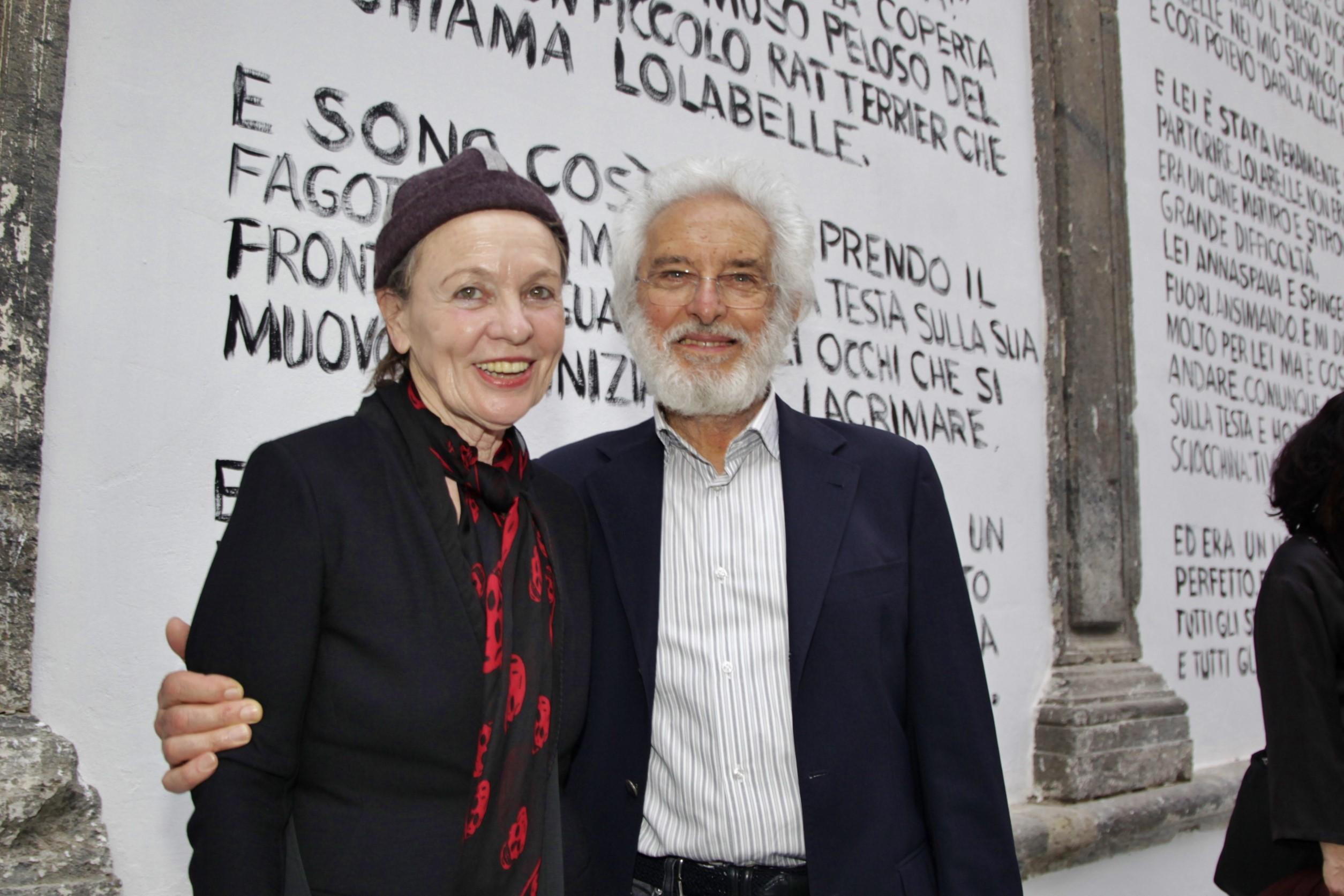 Laurie Anderson e Mimmo Jodice
